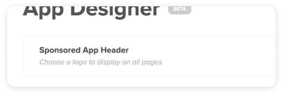 App Designer Screenshot