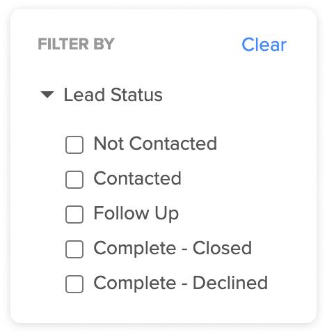 Status Filtering