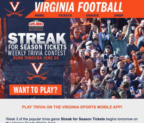 UVA-streak-email